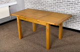 Grasmere Oak Small Ext Table - The Sofa Group
