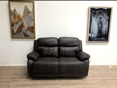 Arden 2 Seater Grey Manual Recliner