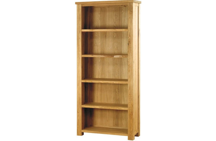 Duddon Oak Large Bookcase - The Sofa Group