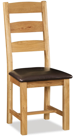 Duddon Oak Ladder Back Dining Chair