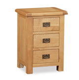 Grasmere Oak Large Wide Bedside