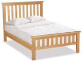 Duddon Oak Slatted Bed 5'