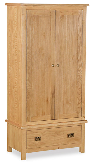 Duddon Oak Gents Wardrobe