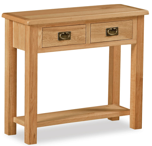 Duddon Oak Console Table