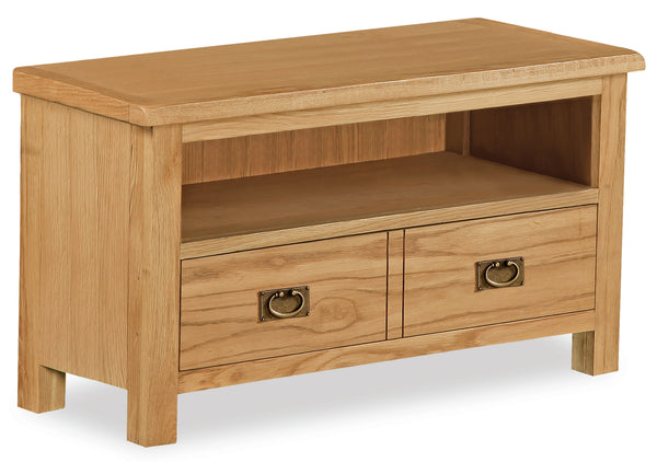 Duddon Oak Small TV Unit