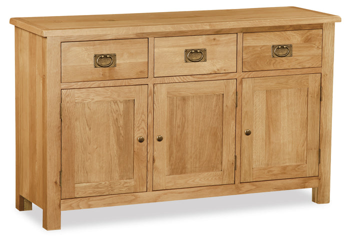 Duddon Oak Large Sideboard