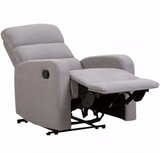 Paris Light Grey Manual Recliner Chair