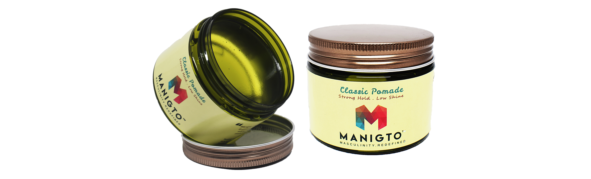 MANIGTO Classic Pomade 150ml /5.3oz, HAIR GROOMING - MANIGTO