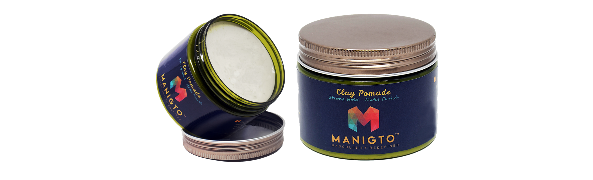 MANIGTO Clay Pomade 150ML / 5.3OZ, HAIR GROOMING - MANIGTO