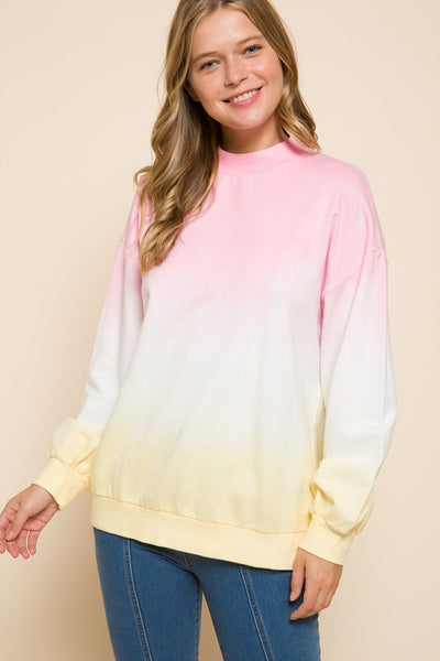 Charming You Boutique | Women's Top | Long Sleeve Tie Dye Sweatshirt
