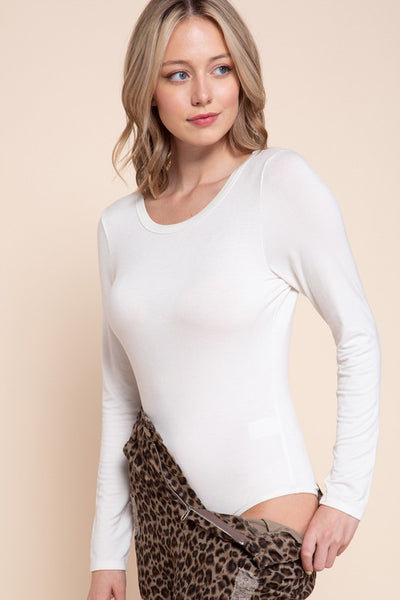 Charming You Boutique | Women's Top | Bamboo Long Sleeve Bodysuit