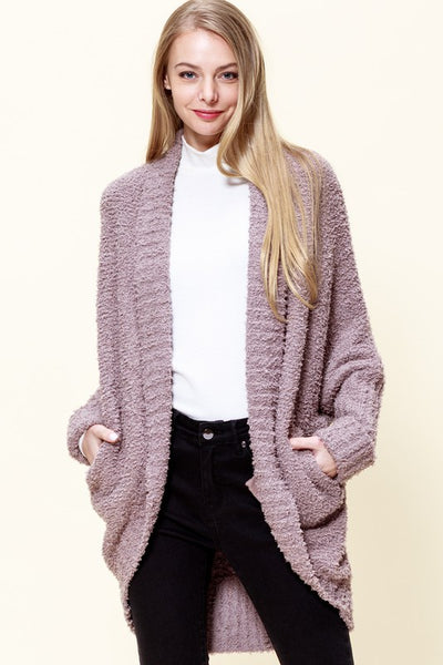 Charming You Boutique | Women's Cardigan | Long Sleeve Cozy Fluffy