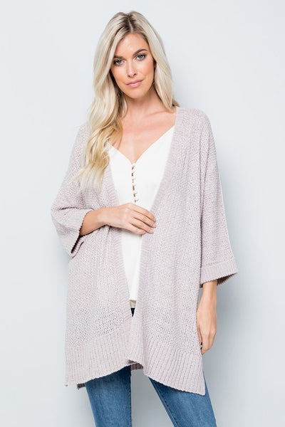 Charming You Boutique | Women's Outerwear | Open Front Knit Cardigan