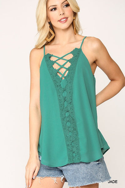 Charming You Boutique | Solid Tank Tops for Women, jade