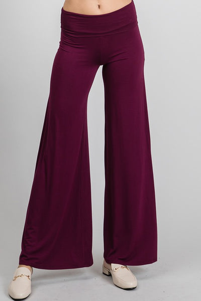 Charming You Boutique | Women's Pants | Elastic Waist Wide Leg Pants