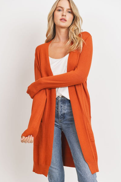 Charming You Boutique | Women's Outerwear | Long Sleeve Open Cardigan