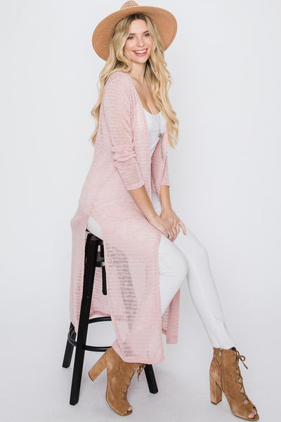 Charming You Boutique | Women's Cardigan | Long Sleeve Open Front Knit