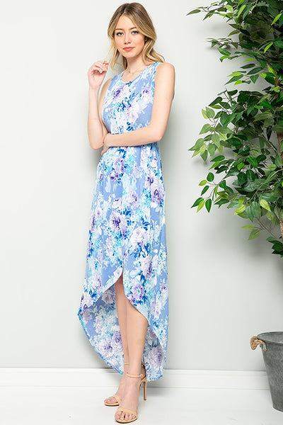 Charming You Boutique | Women's Dress | Sleeveless Floral Maxi Dress