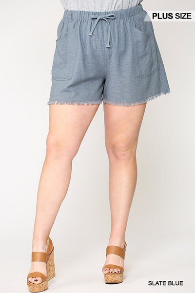 Charming You Boutique Plus Size Shorts for Women