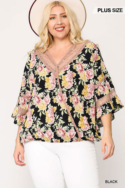 Charming You Boutique | Women's Plus Size Tops and Blouses, black