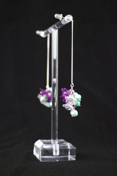Charming You Boutique | Women's Accessories | Hand Made Flower Earring