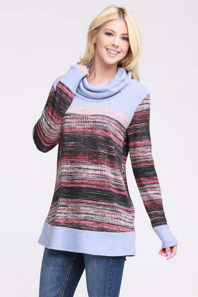 Charming You Boutique | Women's Top | Long Sleeve Color Block Pullover