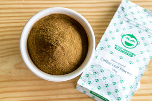 NEW: Coffee Leaf Powder launched!