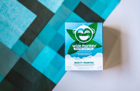 Wize Monkey Minty Marvel Coffee Leaf Tea