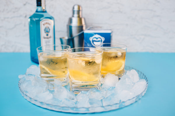 Wize Monkey Earl Grey Gin and Tonic Recipe Coffee Leaf Tea Two Ways bombay sapphire