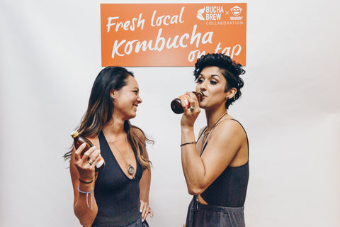 Kara and Natasha, the dream team from Bucha Brew