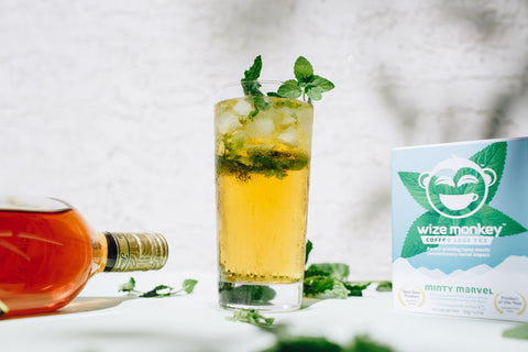 Wize Monkey Marvelous Mojito Tea Cocktail Recipe Coffee Leaf Tea