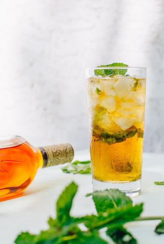 Wize Monkey Marvellous Mojito with Coffee Leaf Tea and Dark Rum