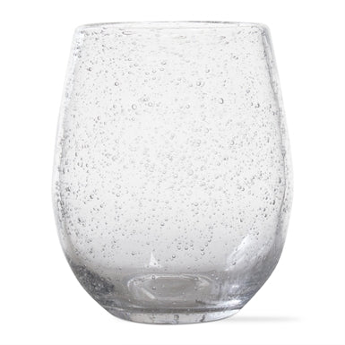 Bubble Glass Stemless Wine Glasses