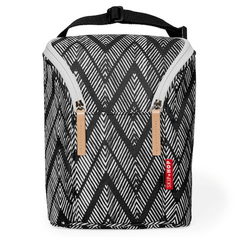 Grab & Go Double Bottle Bag Zig Zag