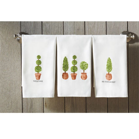 Topiary Dish Towels