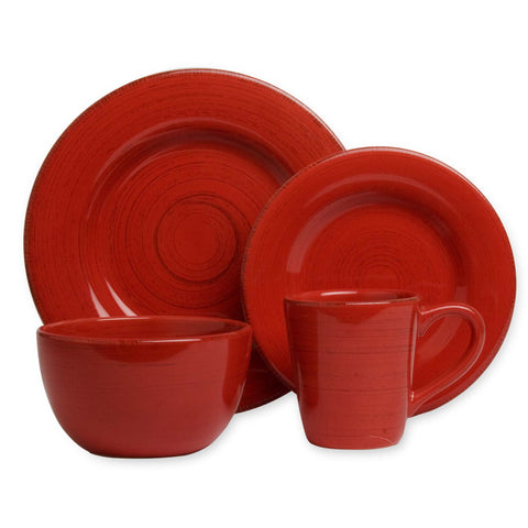 Red Tag Sonoma Set of 4 Dishes Set
