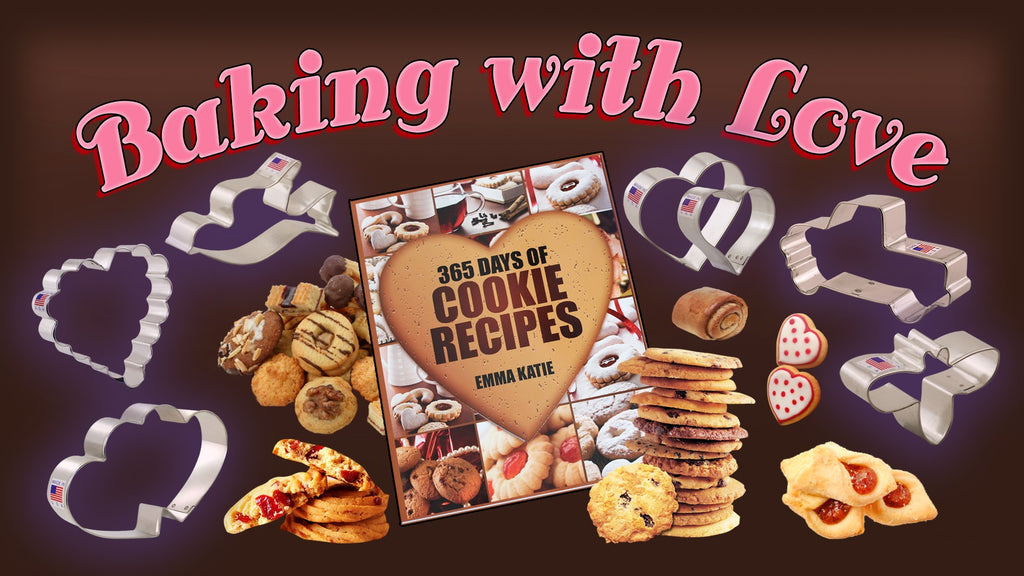 CALLING ALL BAKERS AND COOKIE LOVERS! BAKING WITH LOVE COOKIE CONTEST!
