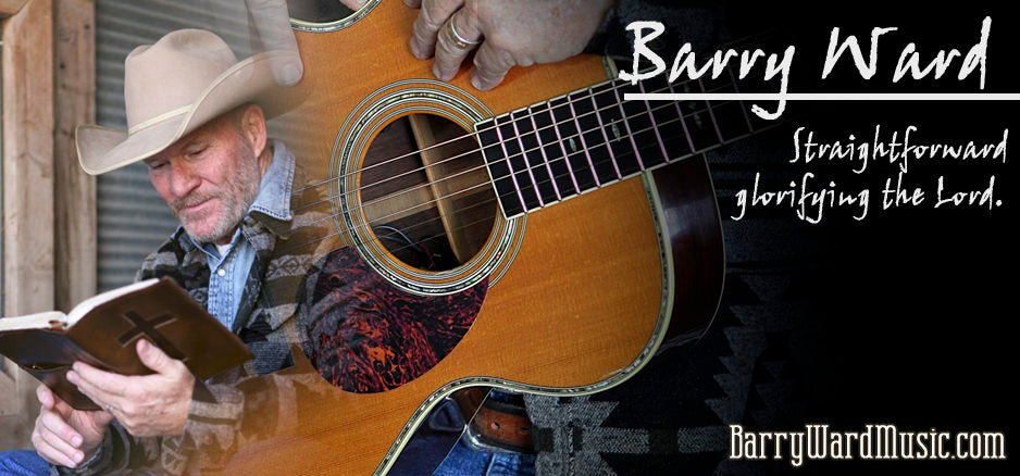 August 16, 2018 Award Winning Singer/Songwriter BARRY WARD on Campfire Cafe Radio