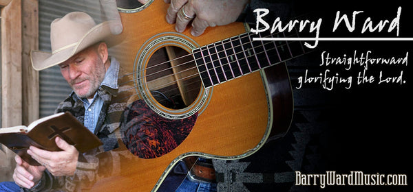 September 27, 2018 Award Winning Singer/Songwriter BARRY WARD on Campfire Cafe Radio