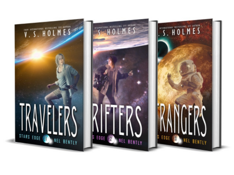 Nel Bently Book Series by VS Holmes