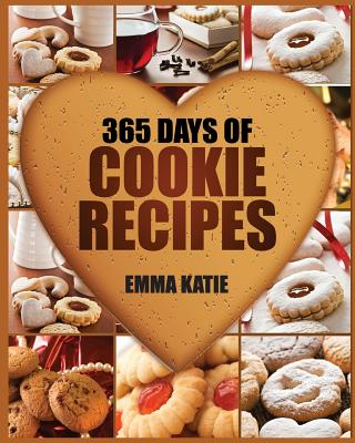 365 Days of Cookie Recipes Book Cover