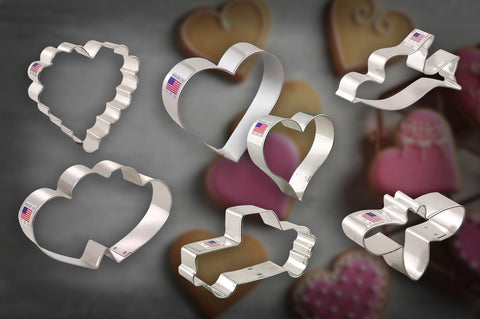 Baking With Love Cookie Cutter Set