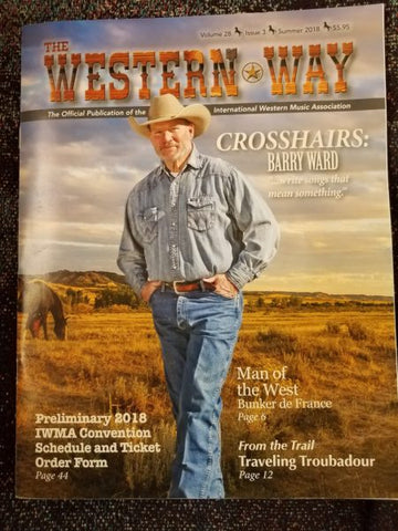 Western Way Magazine Cover with Barry Ward