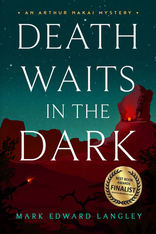 Death Waits in the Dark Book Cover