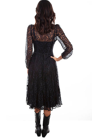 Scully Honey Creek Dress Collection Mid Length Lace