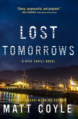 Book Cover Lost Tomorrows