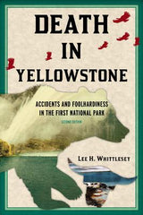 Death In Yellowstone Book Cover