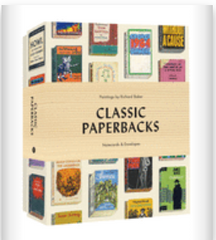 Classic Paperback Notecards