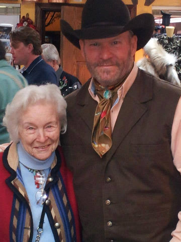 Barry Ward and Marilyn Tuttle at OutWest Boutique and Cultural Center