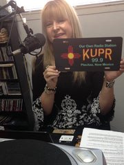 Bobbi Jean Bell Host of OutWest Hour on KUPR LP Community Radio